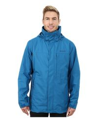Patagonia | Blue 3-in-1 Snowshot Jacket for Men | Lyst
