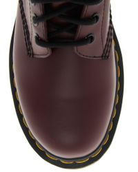 Dr. Martens | Purple Dr Martens Modern Classics 8-eye Patent Boot | Lyst