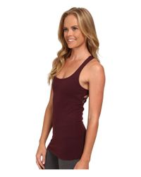 Beyond Yoga - Red Cutout Cami - Lyst