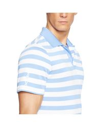 Ralph Lauren | Blue Classic-fit Striped Polo Shirt for Men | Lyst