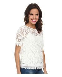 Kut From The Kloth - White Asriel Top - Lyst