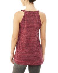 Alternative Apparel | Red Traipse Eco-space Dye Jersey Tank Top | Lyst