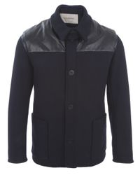 Casely-Hayford - Blue Two Piece Donkey Jacket for Men - Lyst