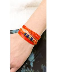 Aurelie Bidermann | Red Takayama Bracelet | Lyst