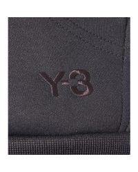 Y-3 Black Cotton-blend Hoodie