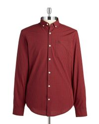 Original Penguin | Checkered Sportshirt for Men | Lyst