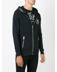 Philipp Plein - Black 'torture Me' Hoodie for Men - Lyst