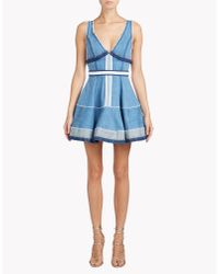 DSquared² | Blue Inside Out Dress | Lyst