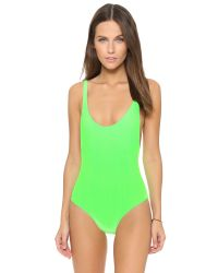 Karla Colletto - Green Elle One Piece - Lyst