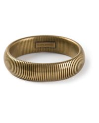 Isabel Marant - Metallic Semirigid Bracelet - Lyst