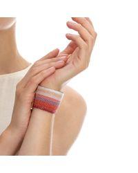 Carolina Bucci - Red Dawn Woven Bracelet - Lyst