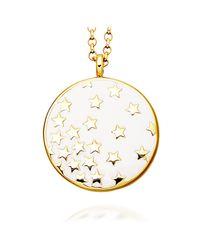 Astley Clarke   Metallic Sea Shell Star Shower 18ct Gold Vermeil Pendant Necklace   Lyst