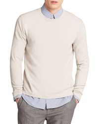 Theory | Natural Brettos Knit Sweater for Men | Lyst