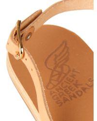 Ancient Greek Sandals - Natural Fotini Leather Sandals - Lyst