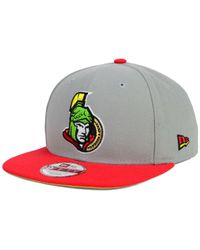 KTZ | Gray Ottawa Senators Bright Ice Up 9fifty Snapback Cap for Men | Lyst