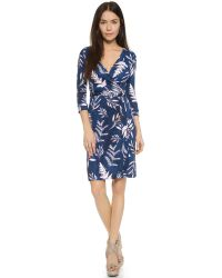 Diane von Furstenberg - Multicolor New Julian Wrap Dress - Lyst