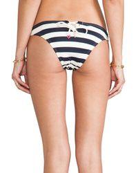 Juicy Couture - Blue Boho Stripe Bottoms - Lyst