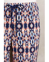 Plenty by Tracy Reese   Blue Medallion Crops   Lyst