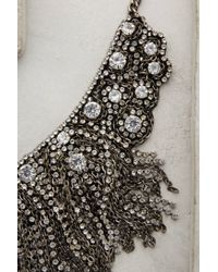 Anthropologie | Metallic Fringed Delicacies Necklace | Lyst