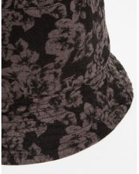 Engineered Garments - Black Reversible Bucket Hat for Men - Lyst