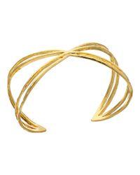 Gorjana | Metallic Skyler Cuff Bracelet | Lyst