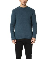 RVCA | Blue Fonsworth Sweater for Men | Lyst