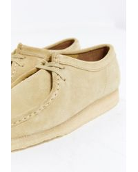 Clarks - Natural Wallabee Suede Shoe for Men - Lyst