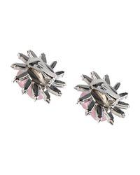 MSGM - Pink Earrings - Lyst