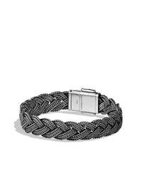 David Yurman - Metallic Maritime Rope Woven Bracelet for Men - Lyst