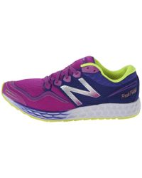 New Balance | Purple Fresh Foam Zante | Lyst