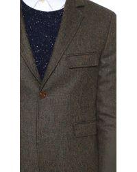 CAMO - Green Tokyo Tweed Jacket for Men - Lyst