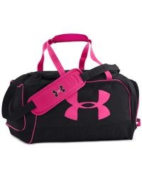 Under Armour | Black Storm Watch Me Duffel Bag | Lyst