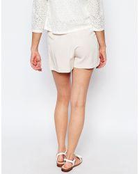 SuperTrash - Pink Howie Button Shorts - Lyst
