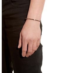 Luis Morais - Brown 14kt Gold Scarab Lozenge Bracelet for Men - Lyst