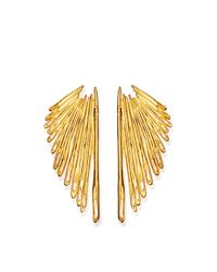 Alex Monroe | Metallic Hero Needle Earrings | Lyst