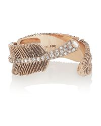 Daniela Villegas | Pink Wind 18-Karat Rose Gold Diamond Ring | Lyst