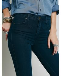 Free People - Blue Reign High Rise - Lyst