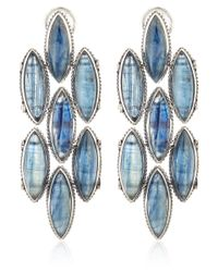 Stephen Dweck | Silver Blue Citrine Marquis Earrings | Lyst
