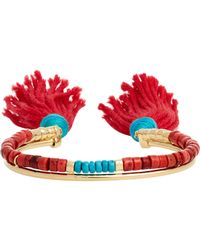 Aurelie Bidermann | Blue Double-band Cuff | Lyst