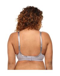 Wacoal - Gray Retro Chic Full-busted Underwire Bra 855186 - Lyst