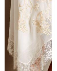 Eloise - White Maluku Embroidered Chemise - Lyst
