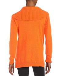 MICHAEL Michael Kors - Black Turtleneck Sweater - Lyst