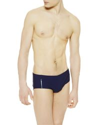 La Perla | Blue High-rise Swimming Brief for Men | Lyst