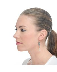 Lulu Frost | White Winged Arrow Earring | Lyst