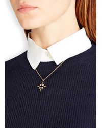 Elizabeth and James - Metallic Astral 22kt Gold-plated Necklace - Lyst