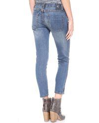 One Teaspoon   Blue Blonde Freebird Jeans - Blue   Lyst