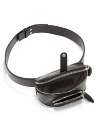 Alexander Wang - Black Runway Mini Leather Fanny Pack - Lyst
