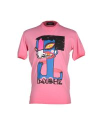 DSquared² | Purple T-shirt for Men | Lyst