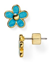 Marc By Marc Jacobs | Blue Daisy Studs | Lyst