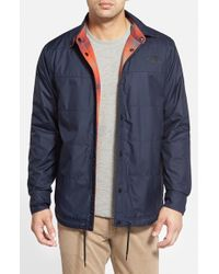 The North Face | Blue 'fort Point' Reversible Jacket for Men | Lyst